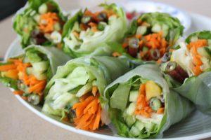 lettuce-spring-rolls