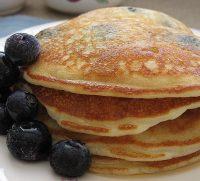 gliten free blueberry pancake