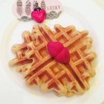 Gluten free waffles with coconut sugar