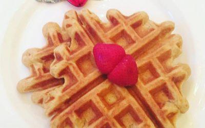 Gluten Free Waffles with Coconut Sugar